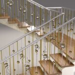 citgate doors - stainless hand rail