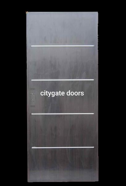 Israeli wooden door - citygate door